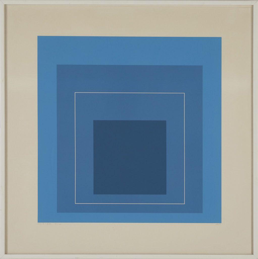 Josef Albers - White Line Square